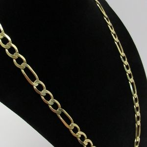 Accessories - 10k Italy Figaro Chain